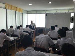 UJLAC日本語学校授業風景