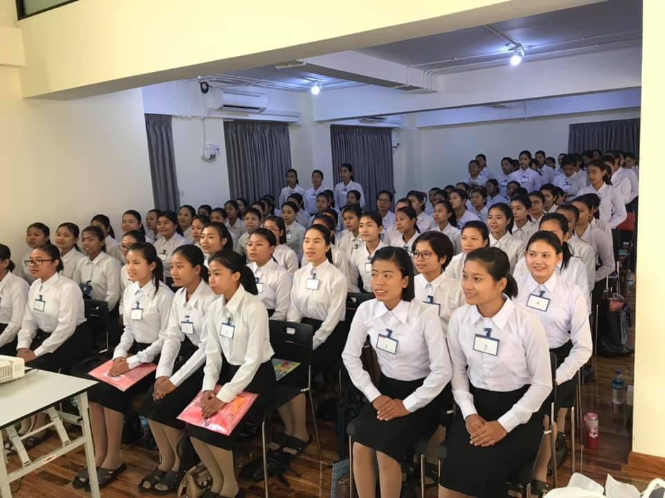 大手介護事業者様による大選考会をミャンマー・…