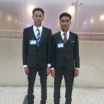 香川県の工事板金業に配属予定の技能実習生が2名ミャンマーから出国しました
