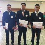 大阪府の鉄筋施工業に配属予定の技能実習生が3名ミャンマーから出国しました